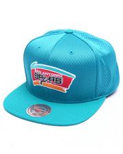 Mitchell & Ness - San Antonio Spurs Jersey Mesh Snapback Cap