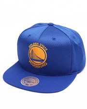 Men - Golden State Warriors Jersey Mesh Snapback Cap