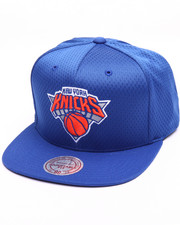 Men - New York Knicks Jersey Mesh Snapback Cap
