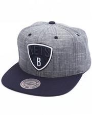 Mitchell & Ness - Brooklyn Nets Slub Linen Snapback Cap