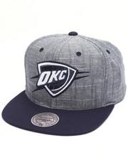 Mitchell & Ness - Oklahoma City Thunder Slub Linen Snapback Cap
