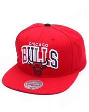 Mitchell & Ness - Chicago Bulls Reflective Tri Pop Arch Logo Snapback Cap