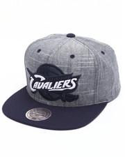 Mitchell & Ness - Cleveland Cavaliers Slub Linen Snapback Cap
