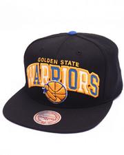 Mitchell & Ness - Golden State Warriors Reflective Tri Pop Arch Logo HWC Snapback Cap