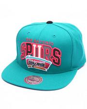 Mitchell & Ness - San Antonio Spurs Reflective Tri Pop Arch Logo HWC Snapback Cap