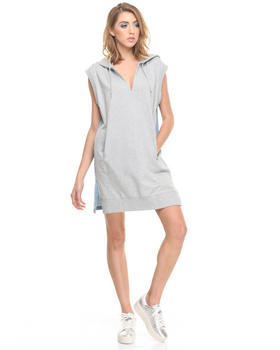 Diesel - D-CHIN HOODED DRESS