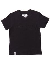 T-Shirts - SLUB V-NECK LOGO TEE (2T-4T)