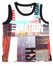 Tanks - SUBLIMATED CITYSCAPE TANK (2T-4T)