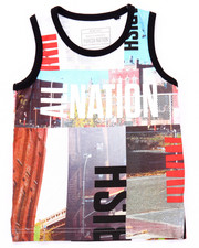 Tanks - SUBLIMATED CITYSCAPE TANK (4-7)