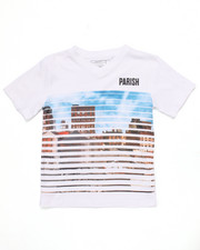 Sizes 8-20 - Big Kids - CITYSCAPE SHUTTER TEE (8-20)