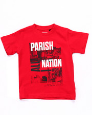 T-Shirts - PARISH NATION TEE (2T-4T)