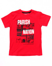 T-Shirts - PARISH NATION TEE (4-7)