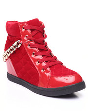 Women - Chain Gang Wedge Sneaker