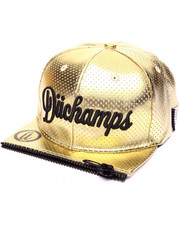 Hats - RA METALLIC ZIPPER - FRONT SNAPBACK HAT