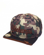 Men - BROWN DUKE CAMO ZIPPER - FRONT SNAPBACK HAT