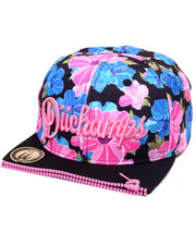Men - DECEMBER BLOOM FLOWER - PRINT ZIPPER - FRONT SNAPBACK HAT