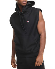 Champion - Sleeveless Reverse Weave Pullover Hoodie