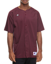 Button-downs - Prospect S/S Baseball - Style Jersey