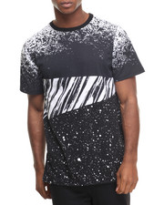 Men - Hi-Lo Mix Print Tee