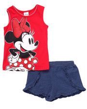 Sizes 4-6x - Kids - 2 PC SET - MINNIE TANK & SHORTS (4-6X)