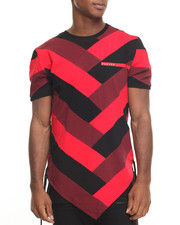 Men - Chevron Pattern S/S Tee