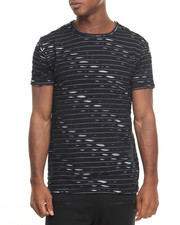 Men - 2 Toned Ripped Tee