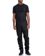 Jeans & Pants - DAS EFX COATED DENIM OVERALLS