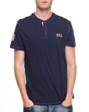 Men - USA Henley