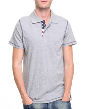 Men - Flag Polo