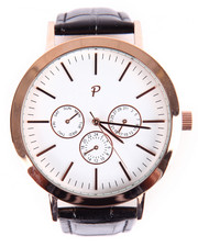 Accessories - Greystone Timepiece (Black & Rose Gold)