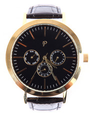 Jewelry & Watches - Greystone Timepiece (Black & Gold)