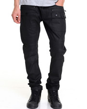 Jeans & Pants - HURRICANE COATED STRUCTURED DENIM JEANS