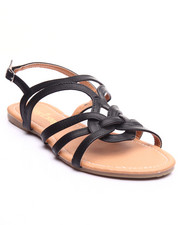 Sandals - Inside Web Vegan Leather Sandal