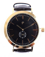 Men - Avalon Timepiece (Black & Gold)