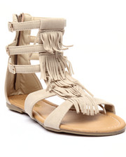 Sandals - Fringes Gladiator Sandal