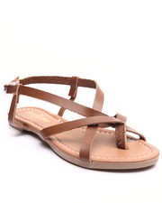 Sandals - Intertwined Vegan Leather Sandal