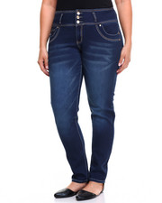 Women - 3 Button Denim Jean (Plus)