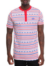 Men - Aztec Pocket Henley