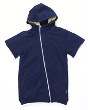 Boys - S/S LUXE FRENCH TERRY HOODY (8-20)