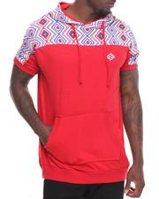 Shirts - Printed S/S Hoodie