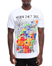 Miskeen - World Map Tee
