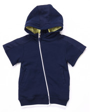 Hoodies - S/S LUXE FRENCH TERRY HOODY (2T-4T)