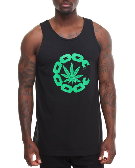 Crooks & Castles Men Chronic Tank Black XX-Large