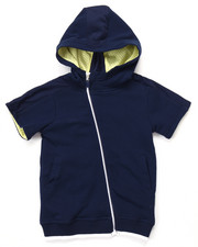 Boys - S/S LUXE FRENCH TERRYT HOODY (4-7)