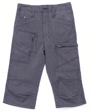 Boys - RAILROAD STRIPE UTILITY SHORTS (8-20)
