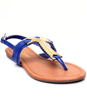 Sandals - Gold Plated Thong Sandal