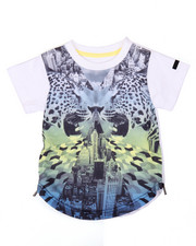 Boys - ELONGATED VANISHING POINT TEE (2T-4T)