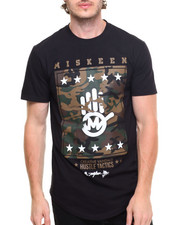 Men - MSKN Army Scallop Tee