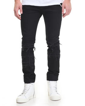 Pants - Kuro Shredded Jean