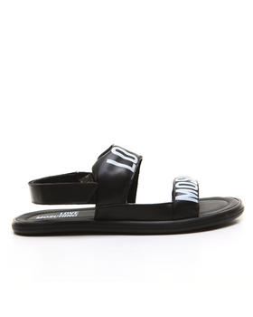 -FEATURES- - Love Moschino Sling Sandal
